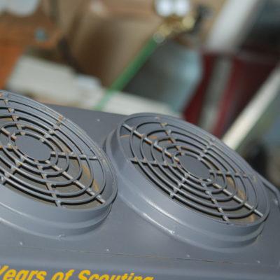 Fan vents